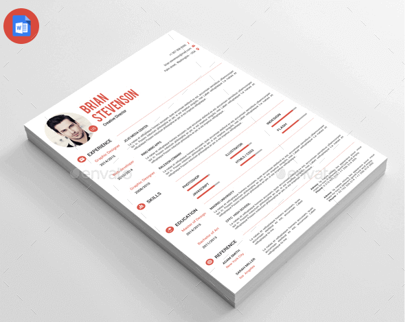 resume-by-thegraphichive-graphicriver