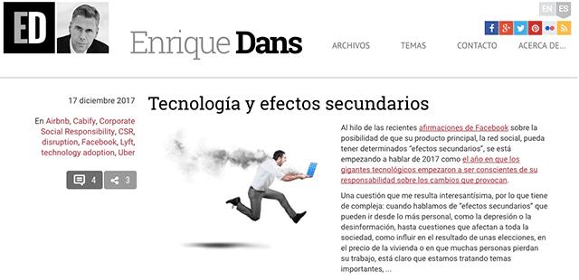 blog de enrique dans