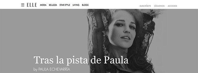 blog de paula echevarría